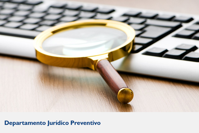 Departamento juridico preventivo