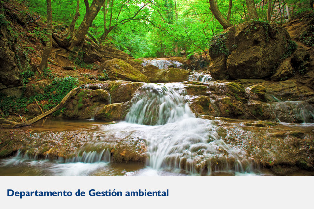 Departamento de gestion ambiental